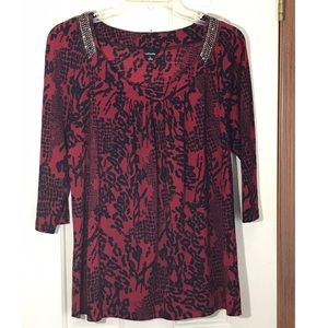 Rafael Pullover Decorated Blouse